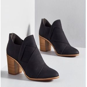 Black boots new in box Modcloth